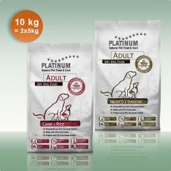 DUO 5 kg Lamb & Rice si 5 kg Iberico & Greens