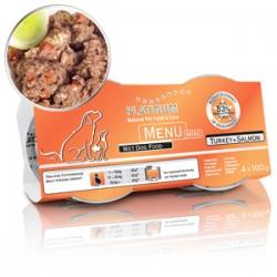 Platinum Menu Mini Turkey & Salmon 100 gr