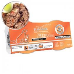 4 x Platinum Menu Mini Turkey & Salmon 100 gr