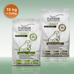 DUO 5 kg Chicken & 5 kg Iberico & Greens